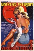 Universo proibito - Belgian Movie Poster (xs thumbnail)