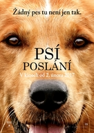 A Dog's Purpose - Czech Movie Poster (xs thumbnail)