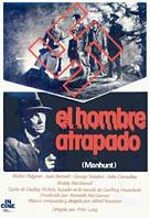 Man Hunt - Spanish Movie Poster (xs thumbnail)