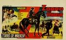 La venganza del Zorro - Belgian Movie Poster (xs thumbnail)