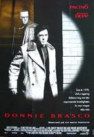 Donnie Brasco - Swedish Movie Poster (xs thumbnail)