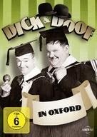 A Chump at Oxford - German DVD cover (xs thumbnail)