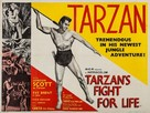 Tarzan's Fight for Life - British Movie Poster (xs thumbnail)