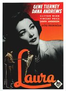 Laura - Finnish Movie Poster (xs thumbnail)