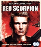 Red Scorpion - Danish Blu-Ray cover (xs thumbnail)