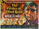 Pirates of Blood River - British Movie Poster (xs thumbnail)