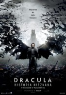 Dracula Untold - Polish Movie Poster (xs thumbnail)