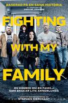 Fighting with My Family - Swedish Movie Poster (xs thumbnail)