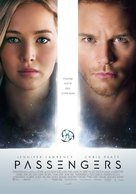 Passengers - Greek Movie Poster (xs thumbnail)