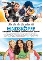 Grown Ups - German Movie Poster (xs thumbnail)