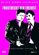 Faustrecht der Freiheit - German DVD movie cover (xs thumbnail)