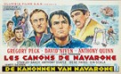 The Guns of Navarone - Belgian Movie Poster (xs thumbnail)