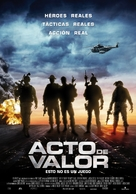 Act of Valor - Spanish Movie Poster (xs thumbnail)