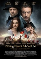Les Misérables - Vietnamese Movie Poster (xs thumbnail)