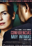 Confidences trop intimes - Spanish Movie Poster (xs thumbnail)