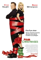 Four Christmases - Swedish Movie Poster (xs thumbnail)