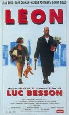 Léon - Italian VHS movie cover (xs thumbnail)