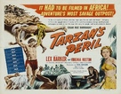 Tarzan's Peril - British Movie Poster (xs thumbnail)