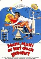 Tandlæge på sengekanten - German Movie Poster (xs thumbnail)