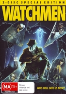 Watchmen - Australian DVD cover (xs thumbnail)