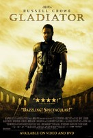 Gladiator - Video release movie poster (xs thumbnail)