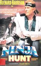 Ninja Hunt - Dutch Movie Cover (xs thumbnail)
