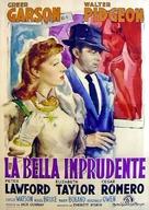 Julia Misbehaves - Italian Movie Poster (xs thumbnail)
