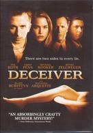 Deceiver - DVD cover (xs thumbnail)