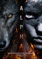 Alpha - German Movie Poster (xs thumbnail)