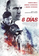 6 Days - Spanish Movie Poster (xs thumbnail)