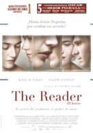 The Reader - Spanish Movie Poster (xs thumbnail)