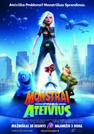 Monsters vs. Aliens - Lithuanian Movie Poster (xs thumbnail)