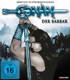Conan The Barbarian - German Blu-Ray cover (xs thumbnail)
