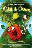 Æblet & ormen - Danish Movie Poster (xs thumbnail)