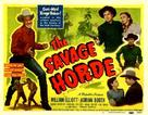 The Savage Horde - Movie Poster (xs thumbnail)