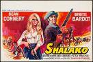 Shalako - Belgian Movie Poster (xs thumbnail)