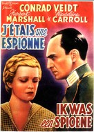 I Was a Spy - Belgian Movie Poster (xs thumbnail)
