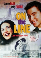 On the Line - German Movie Poster (xs thumbnail)
