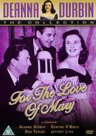 For the Love of Mary - British DVD cover (xs thumbnail)