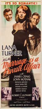 Marriage Is a Private Affair - Movie Poster (xs thumbnail)