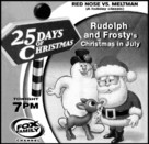 Rudolph and Frosty's Christmas in July - poster (xs thumbnail)