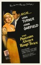 The Postman Always Rings Twice - poster (xs thumbnail)