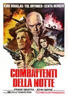 Cast a Giant Shadow - Italian Movie Poster (xs thumbnail)