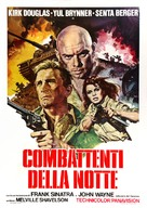 Cast a Giant Shadow - Italian Movie Poster (xs thumbnail)