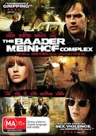 Der Baader Meinhof Komplex - Australian DVD movie cover (xs thumbnail)