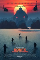 Kong: Skull Island - Greek Movie Poster (xs thumbnail)