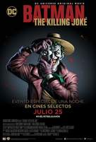 Batman: The Killing Joke - Argentinian Movie Poster (xs thumbnail)