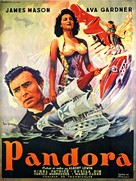 Pandora and the Flying Dutchman - French Movie Poster (xs thumbnail)
