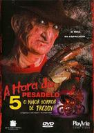 A Nightmare on Elm Street: The Dream Child - Brazilian Movie Cover (xs thumbnail)
