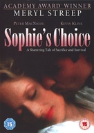 Sophie's Choice - British Movie Cover (xs thumbnail)